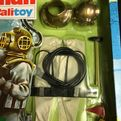 ACTION MAN - DEEP SEA DIVER - VINTAGE CARDED UNIFORM (Ref 12/9)